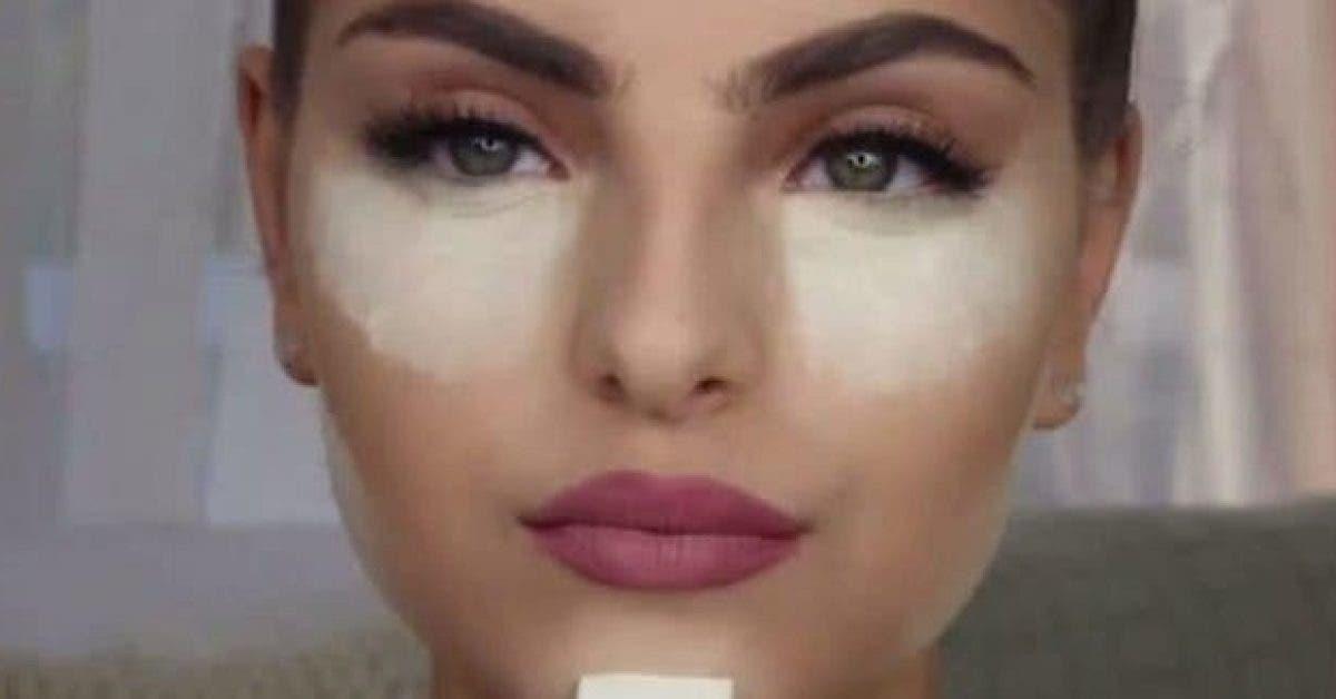 Cette femme met du bicarbonate de soude sous ses yeux et le résultat est incroyable