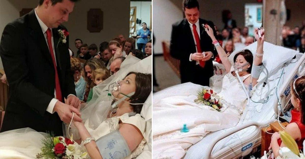 Cette femme se marie et meurt quelques heures après