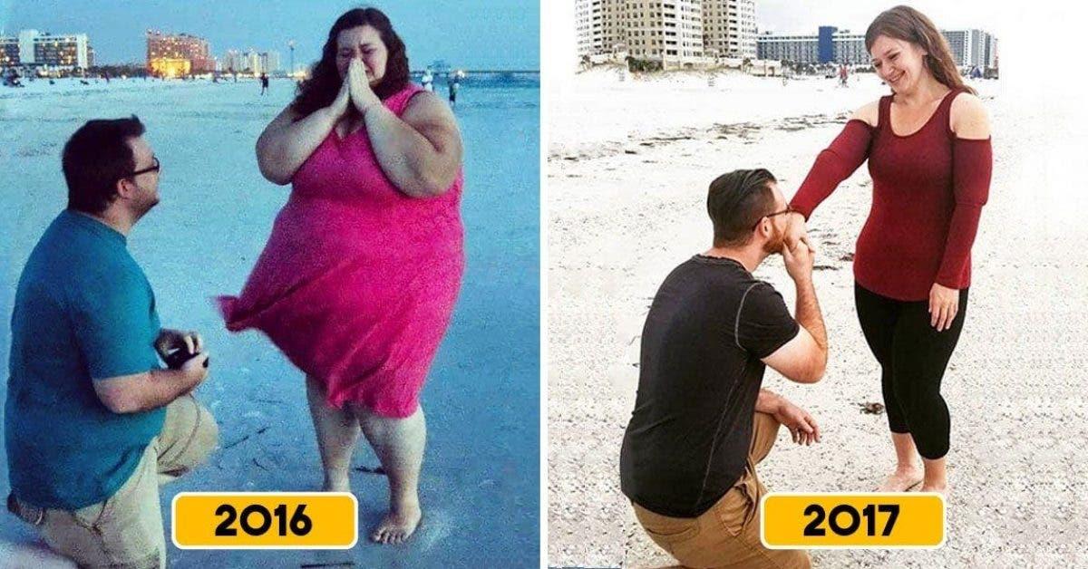 Cette femme souffrant d'obésité a perdu 141 kilos, regardez sa transformation en images