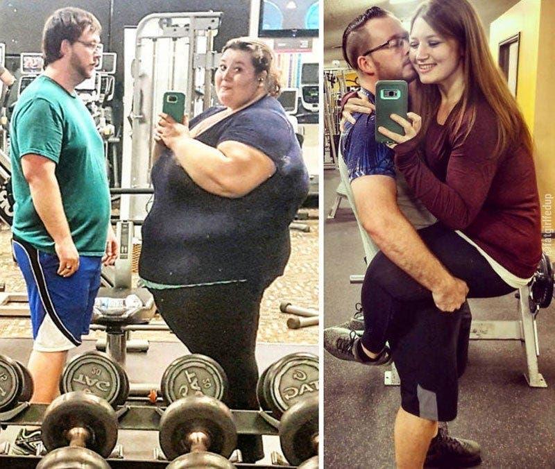Cette femme souffrant d'obésité a perdu 141 kilos