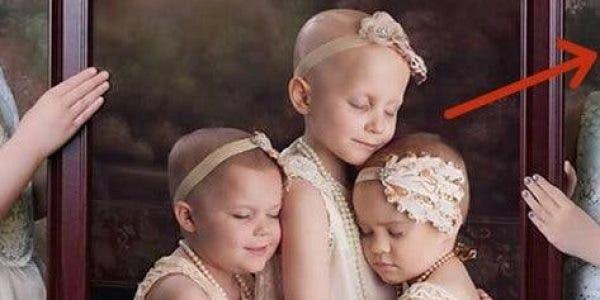 Cette image de 3 fillettes cancéreuses a fait le tour du monde