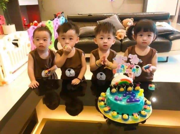 maman de 4 enfants