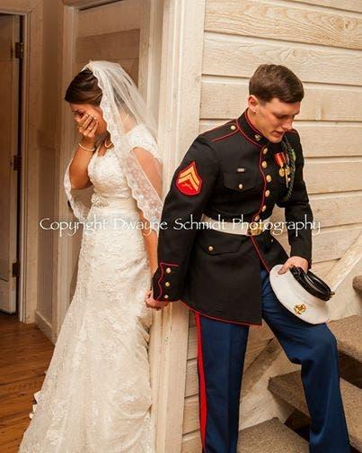 Cette mariée est surprise de découvrir une autre facette de son mari le jour du mariage