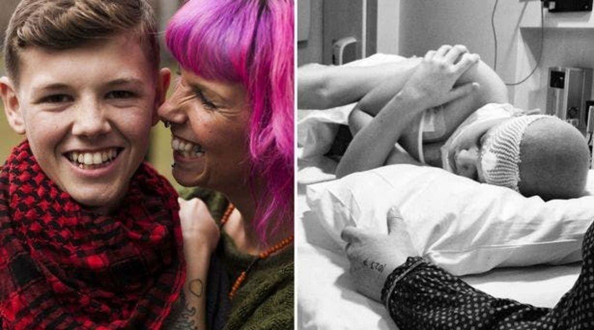Cette mère a donné du cannabis à son fils atteint de leucémie pour apaiser ses douleurs mais le résultat était bluffant