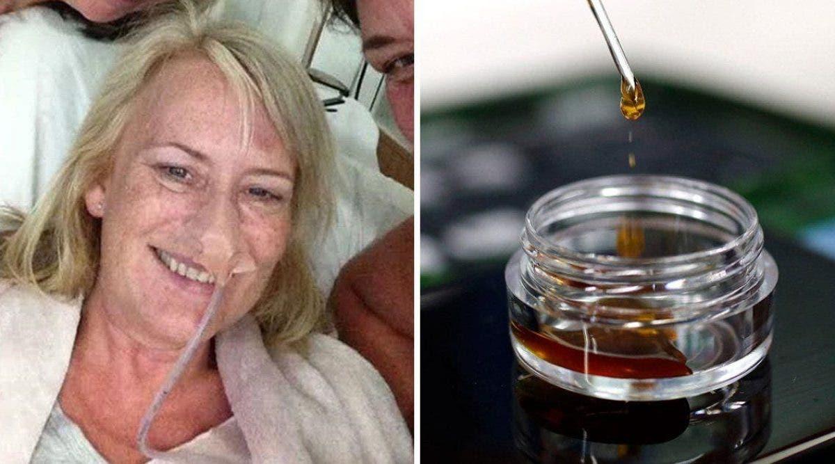 Cette mère a pris illégalement de l'huile de cannabis pour combattre son cancer en phase terminale