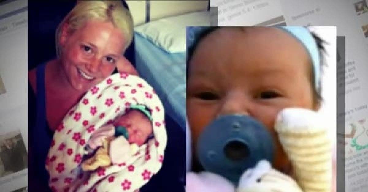 Cette mère est choquée après avoir vu sa fille dans la salle d'accouchement - aujourd'hui elle livre un message important sur Facebook