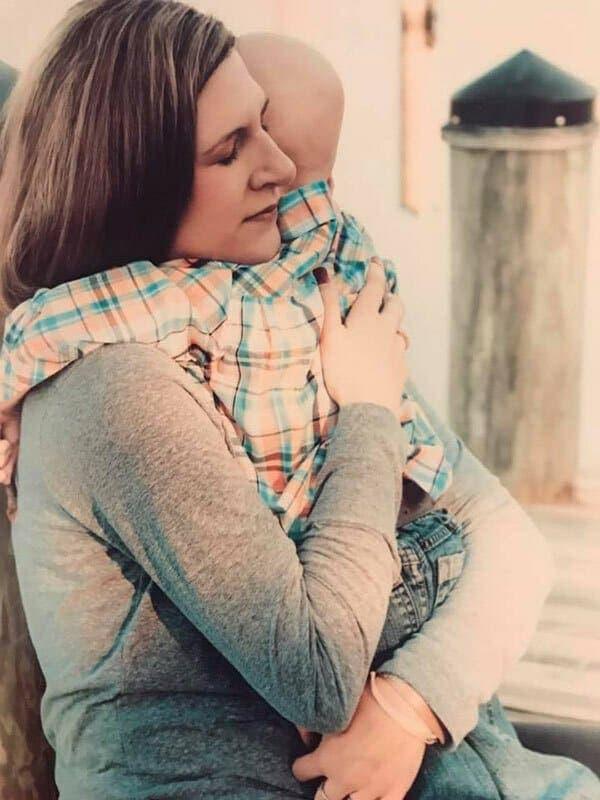 Cette mère s'apprêtait à dire au adieu à son fils atteint de cancer
