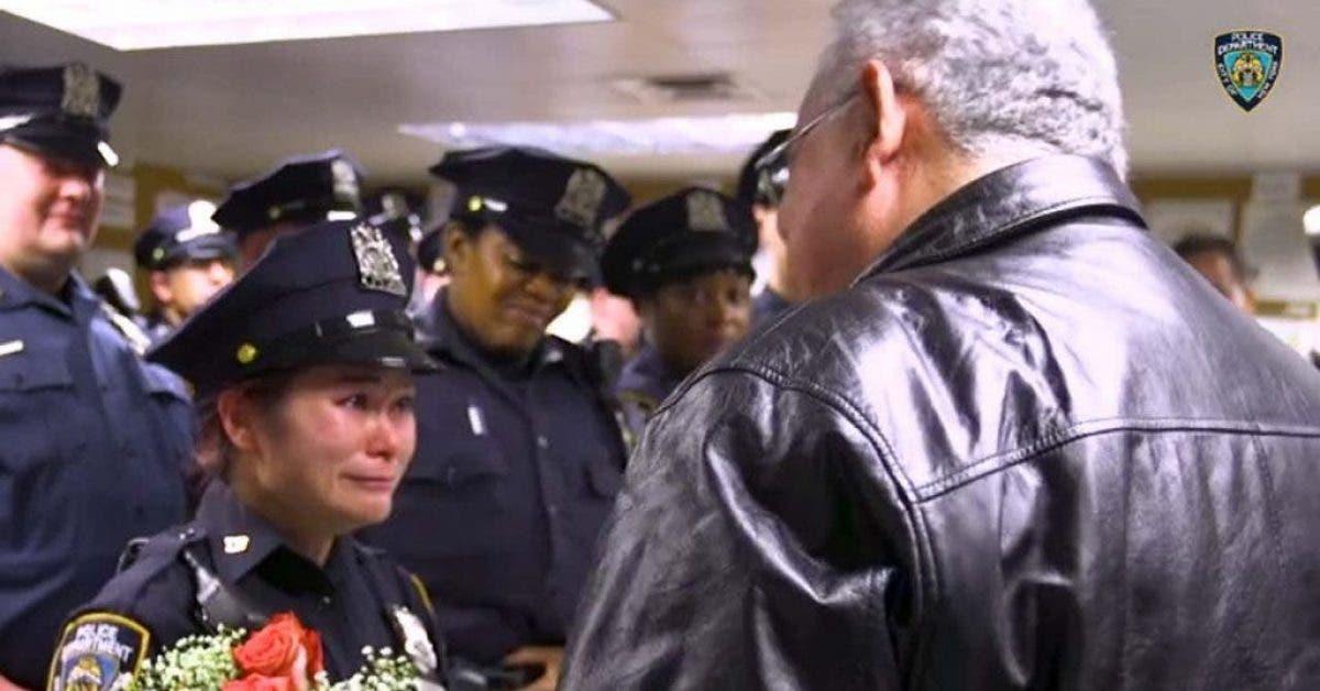 Cette policière cherchait son sauveur depuis des années