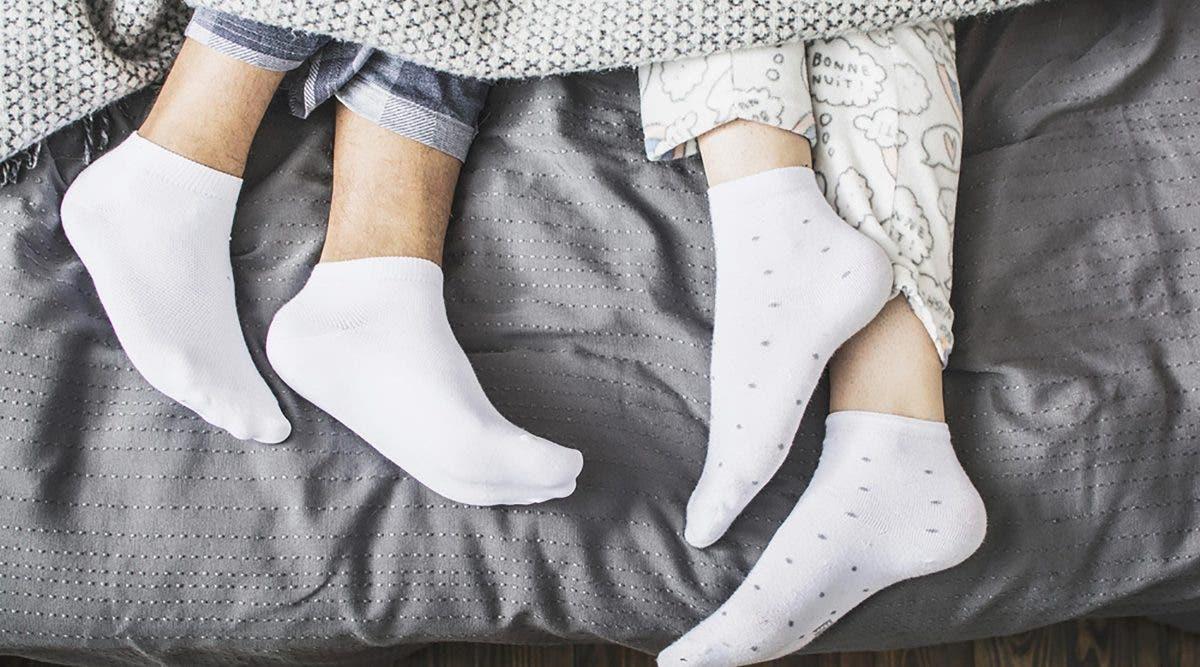 Ceux qui portent des chaussettes pour dormir sont très spéciales