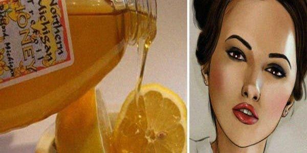 Citron, banane et miel pour les rides