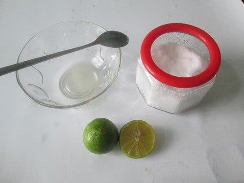 Citron et bicarbonate de soude 2 1