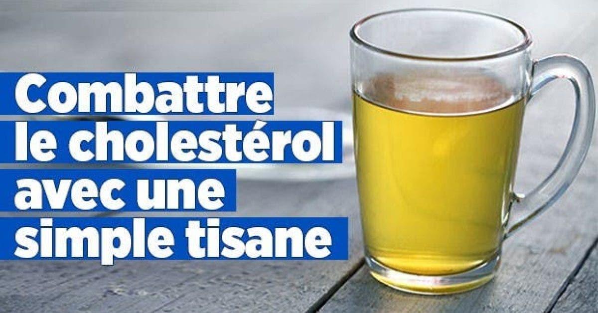 Combattre le cholesterol avec simple tisane 1