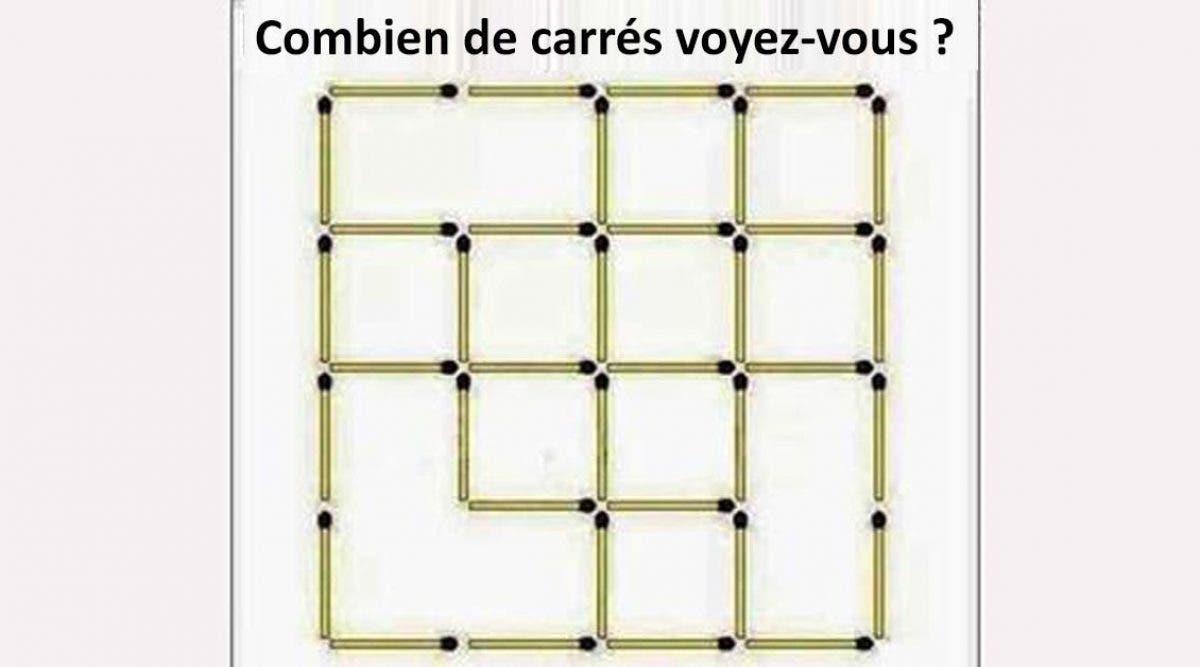 Combien de carrés voyez-vous ?