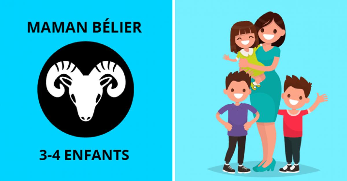 Combien d'enfants vous allez avoir d'après votre signe du zodiaque