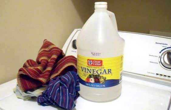 vinaigre dans votre lave linge