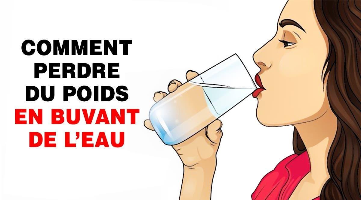 perdre du poids avec chaque verre que vous buvez