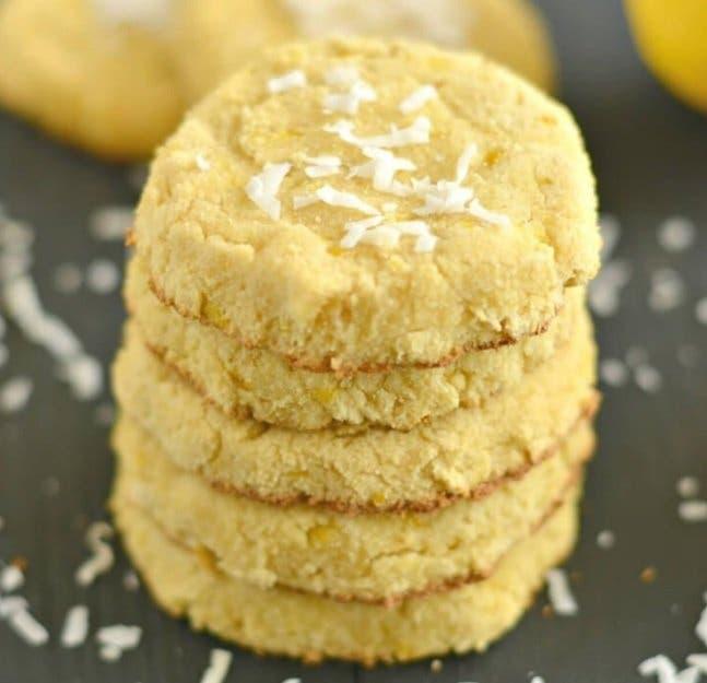 Cookies fondants au citron