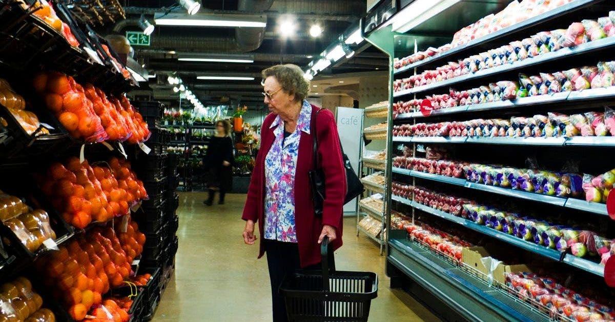 coronavirus supermarche