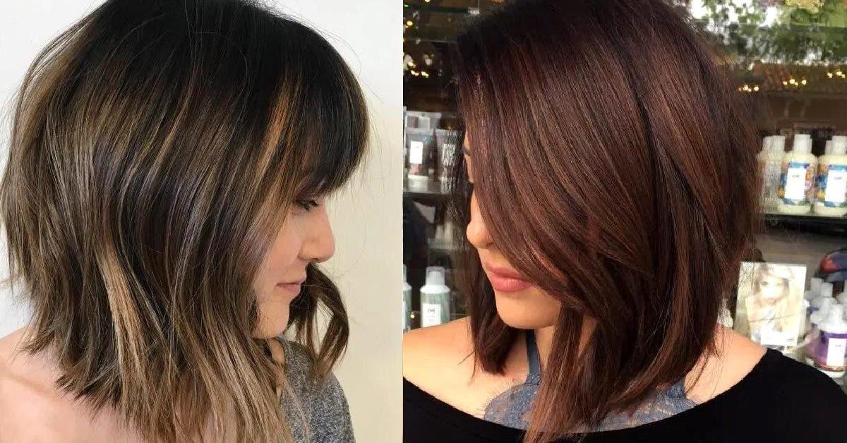 Coupes carré long : Les 40 plus beaux modèles qui vous donneront envie d'aller chez le coiffeur