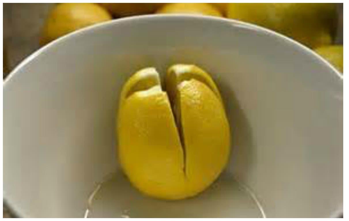 Coupez du citron et placez le dans votre chambre coucher for Chambre urinaire