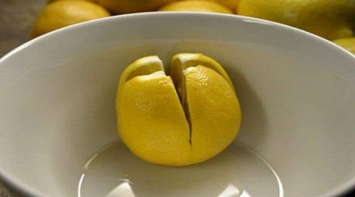 Coupez un citron et gardez-le dans votre chambre à coucher