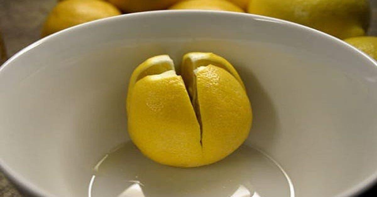Coupez un citron et mettez le sur votre table de chevet voici pourquoi 1