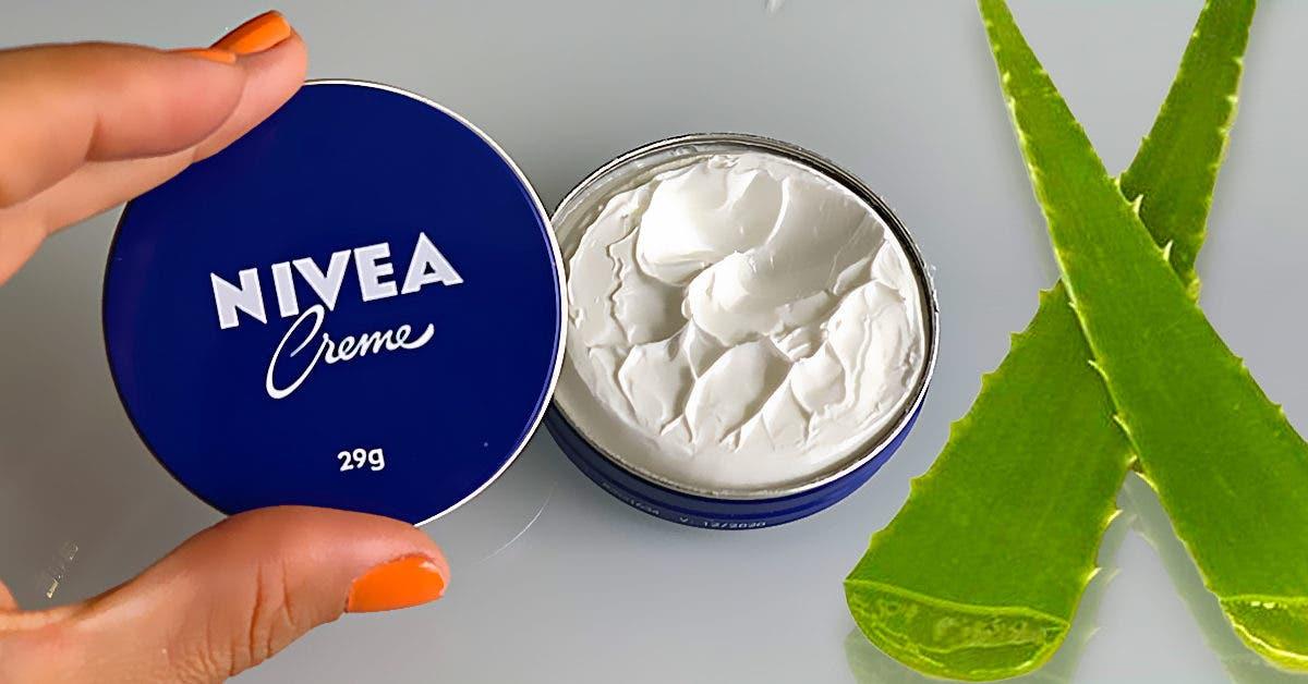 Recette : Crème à l'Aloe Vera et Nivea pour éliminer les rides et ridules d'expression