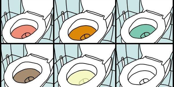 De quelle couleur est votre urine
