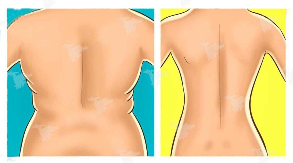 Débarrassez-vous de la graisse du dos et des bras grâce à ces 4 exercices rapides