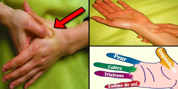Débarrassez-vous du stress avec ce massage de 5 minutes sur vos doigts