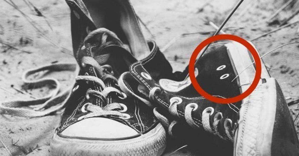 Decouvrez enfin a quoi servent ces 2 trous mysterieux sur vos baskets 1