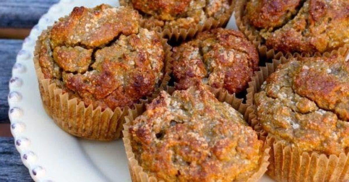Delicieux muffins anti inflammatoires a la noix de coco patate douce gingembre curcuma cannelle et sirop derable 1