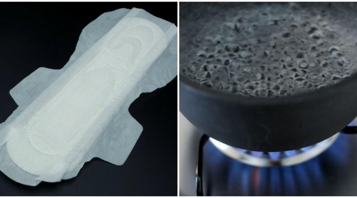 Des adolescents se droguent en faisant bouillir des serviettes hygiéniques