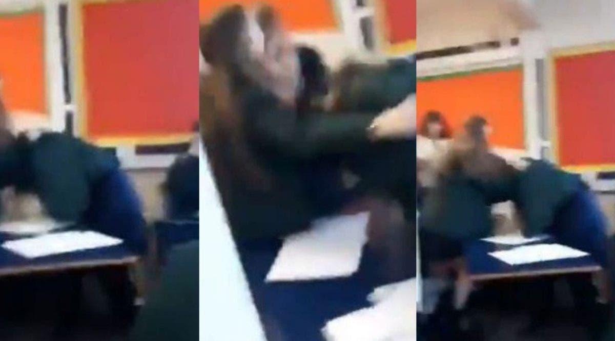 Des adolescents tabassent violemment une élève handicapée