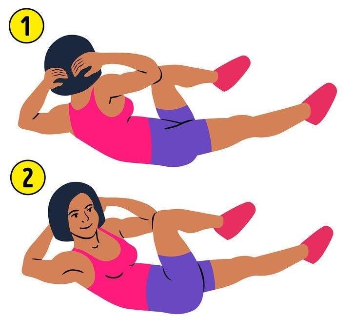 Des exercices de 5 minutes pour brûler la graisse du ventre