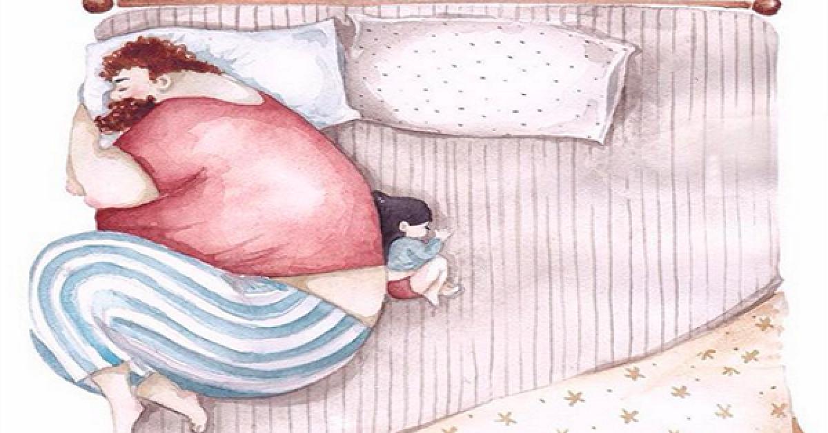 Vous allez craquer ! Des illustrations qui font chaud au cœur de l'amour entre les papas et leurs petites filles