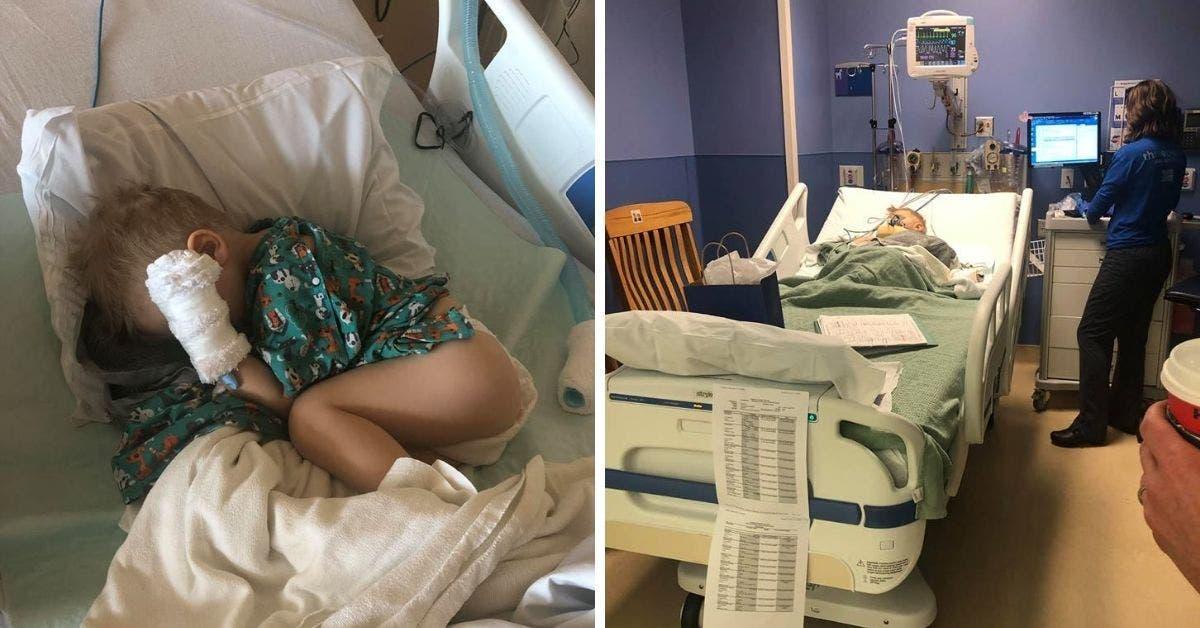 Des parents avertissent sur les dangers du pop-corn après que leur fils de 2 ans se soit retrouvé à l'hôpital