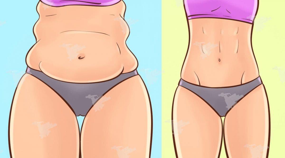 Eliminez la graisse du ventre en faisant ceci 6 minutes par jour