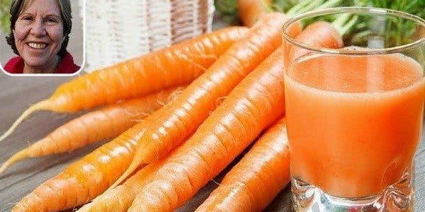 Elle a bu du jus de carotte chaque jour pendant 8 mois : vous n'allez pas croire ce qui s'est passé…