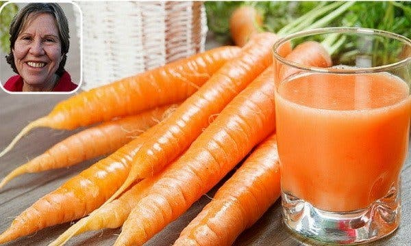 She drank carrot juice every day for 8 months: you will not believe what happened ...