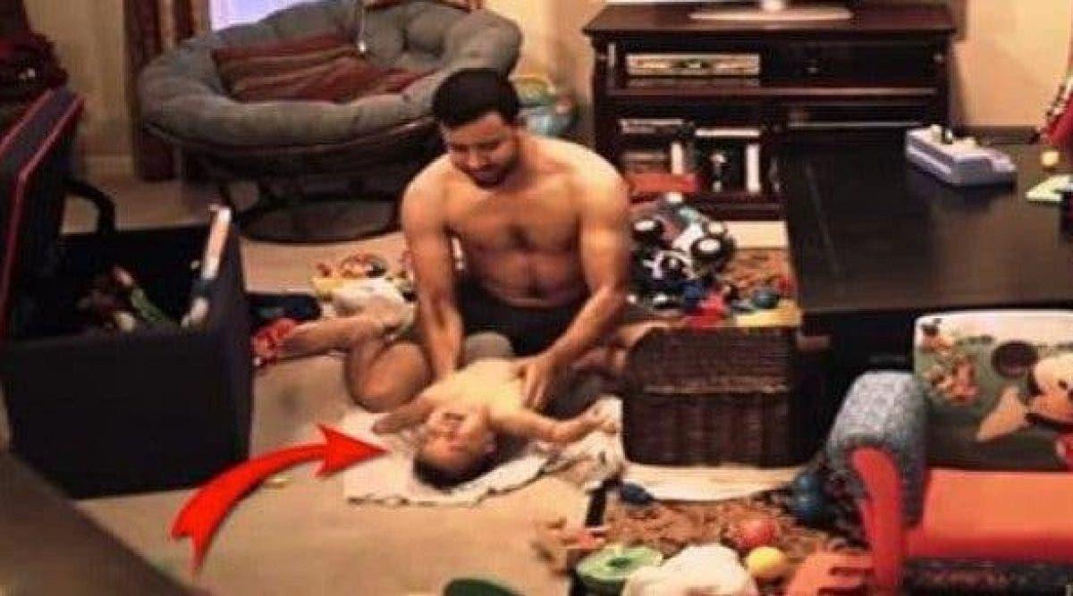 Elle a voulu savoir ce que son mari faisait avec son enfant en son absence