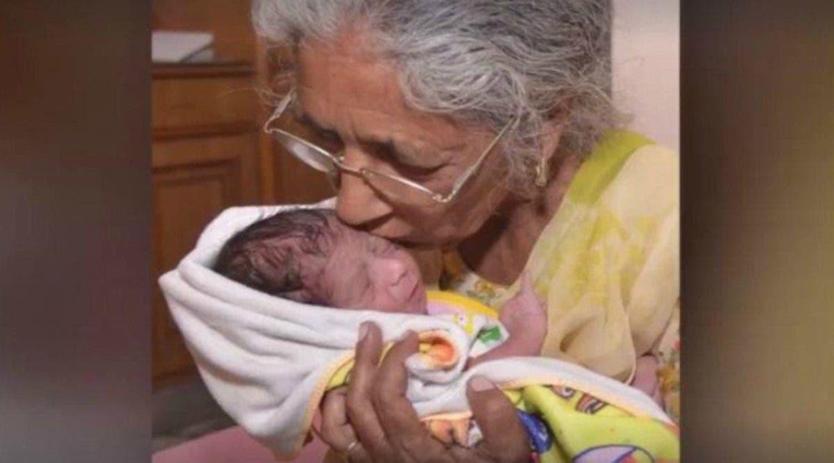 Elle donne naissance à son premier enfant à 72 ans