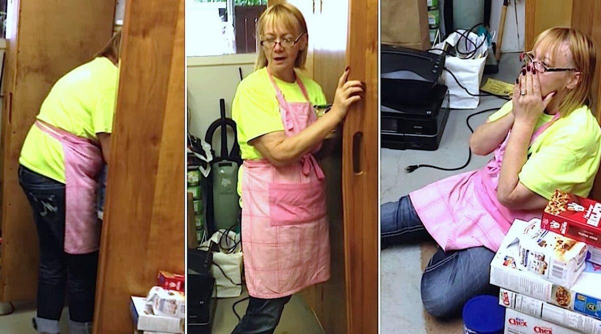 Elle faisait le ménage, quand elle voit son mari qui a résolu un mystère qui la hante depuis 15 ans