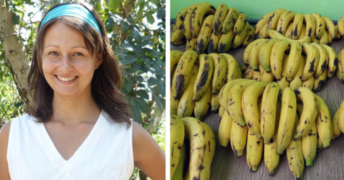 Elle mange des bananes pendant 3 jours