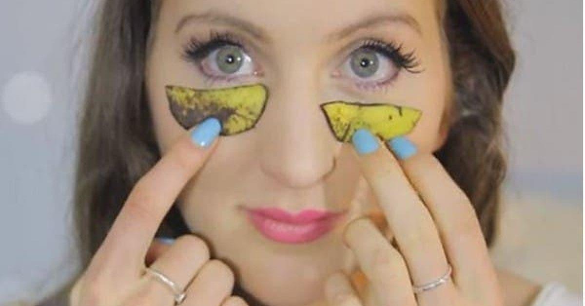 Elle place de la peau de banane sur son visage et plus tard quelque chose dincroyable arrive 1