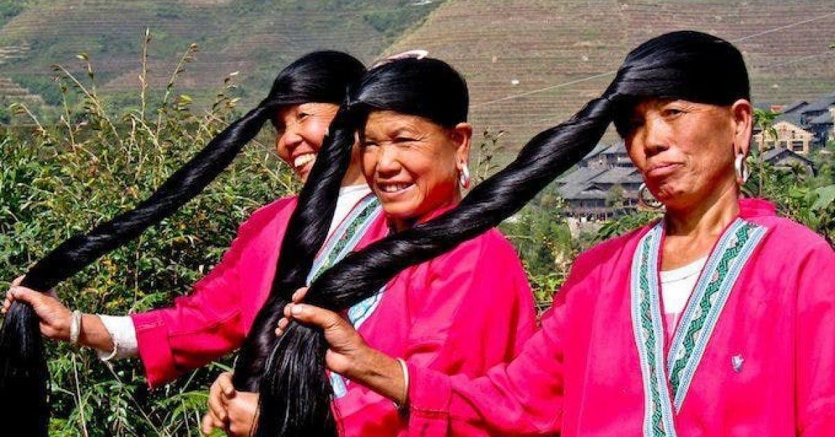 Elles n'ont pas de cheveux gris à l'âge de 70 ans et leurs cheveux mesurent 2 mètres !