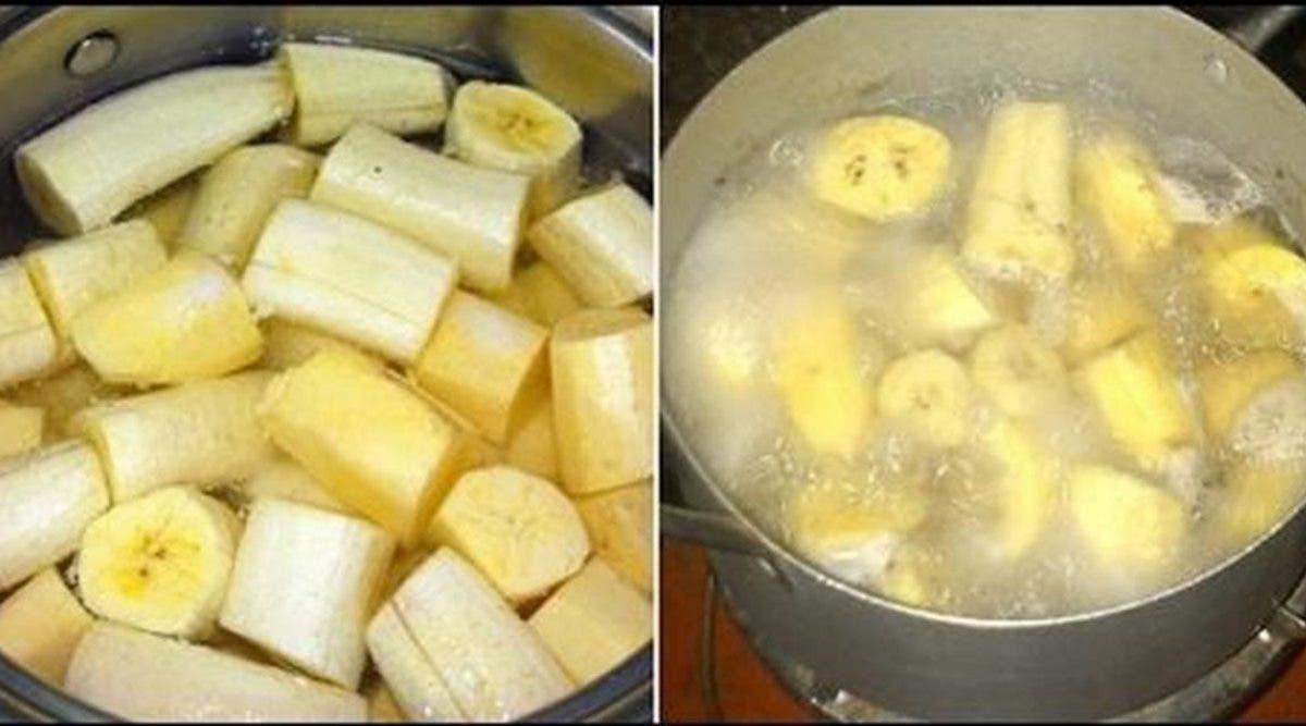 bouillir les bananes