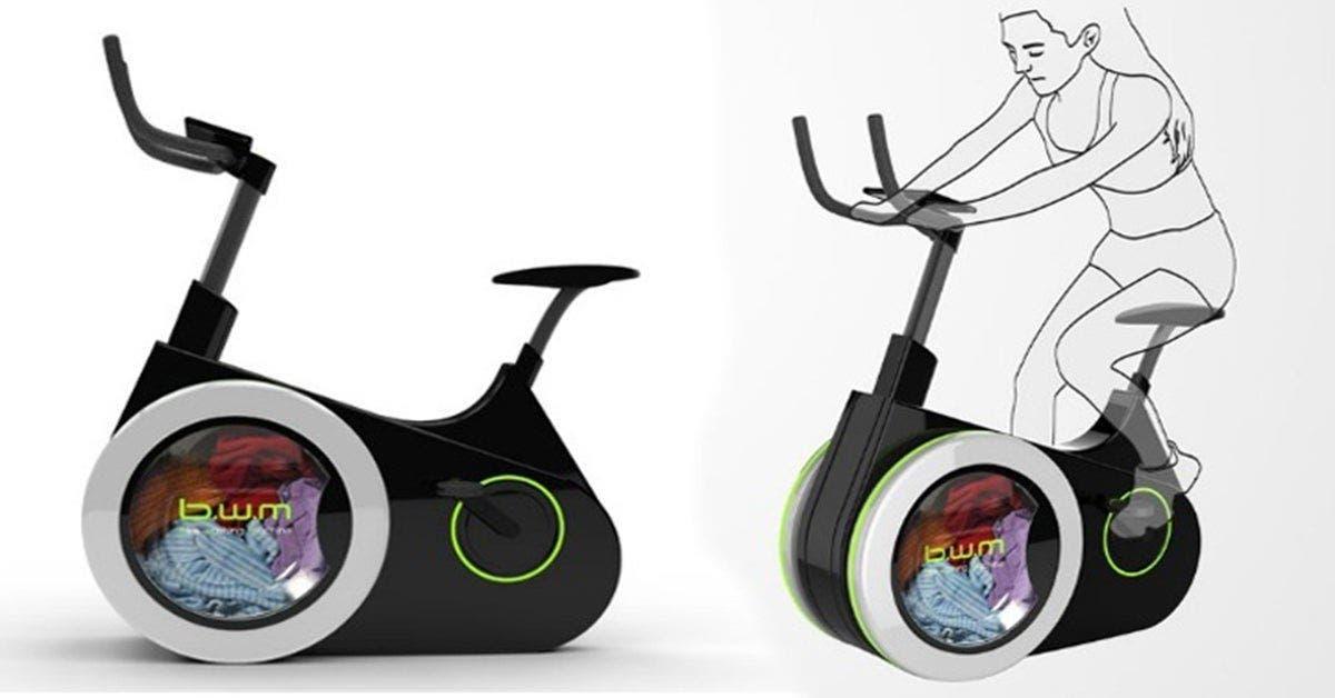 Faites de l'exercice et lavez votre linge avec ce nouveau vélo écologique