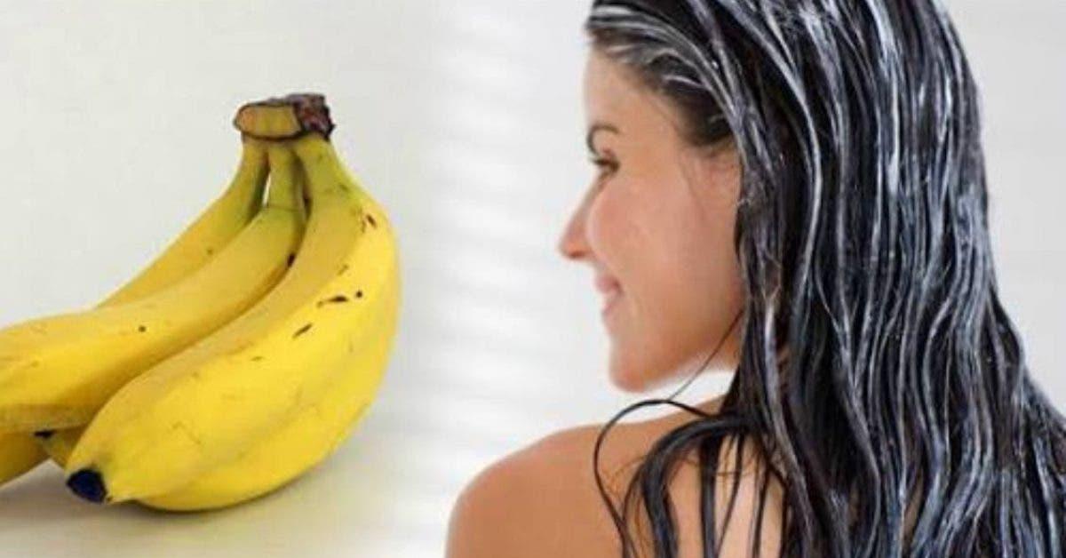 Faites pousser vos cheveux rapidement avec ce masque à la banane
