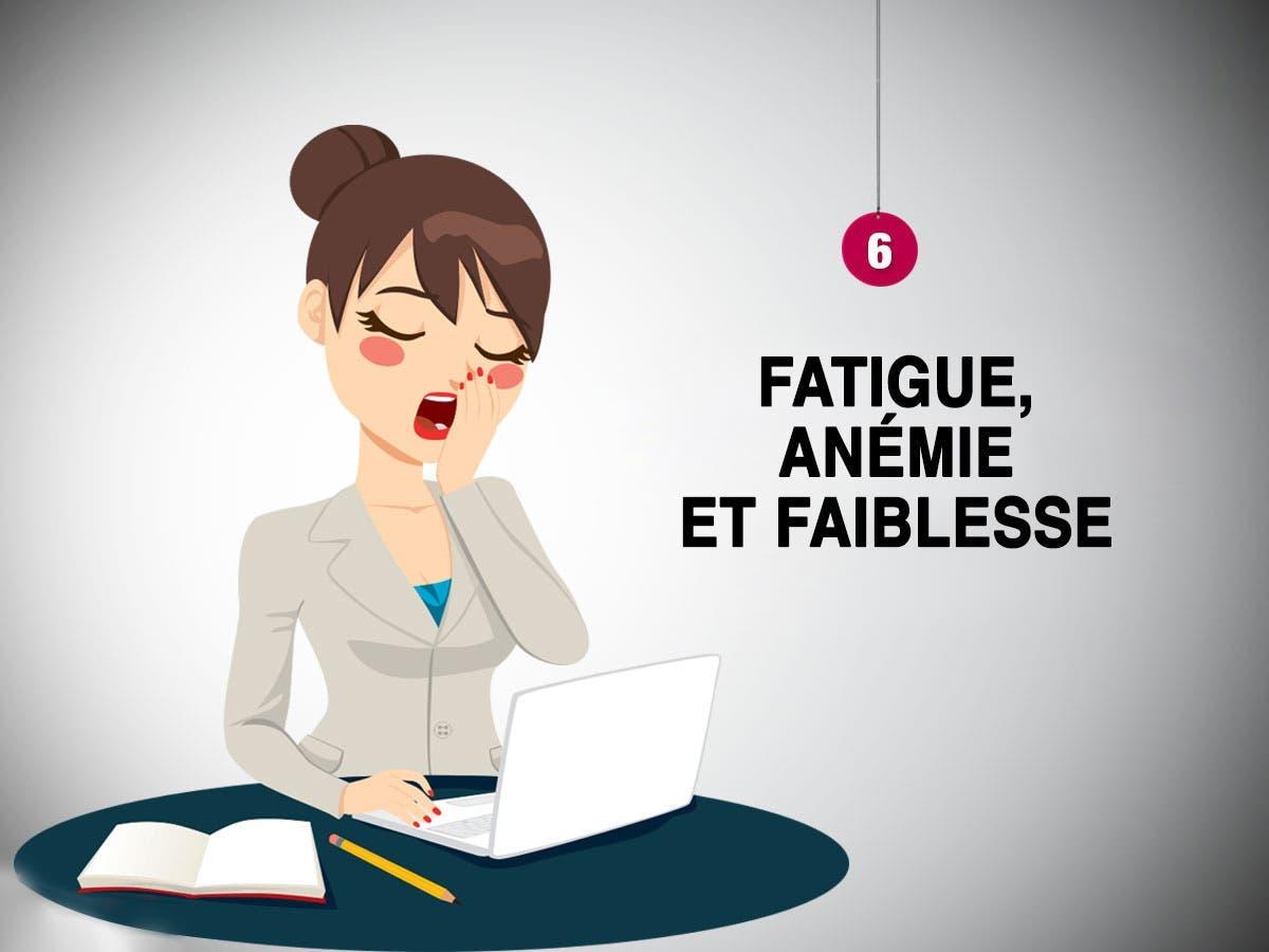 Anémie et fatigue chronique